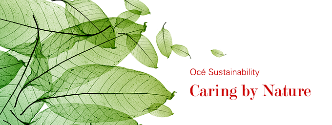 Océ sustainability